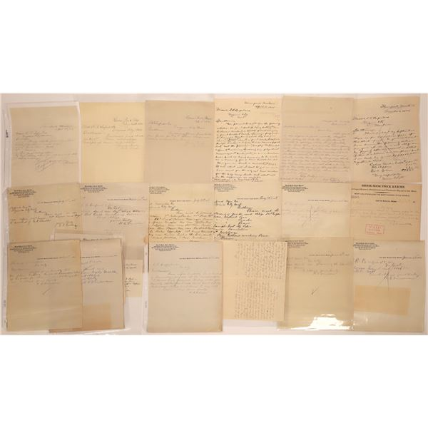Homepark Letter Correspondence Collection  [140870]