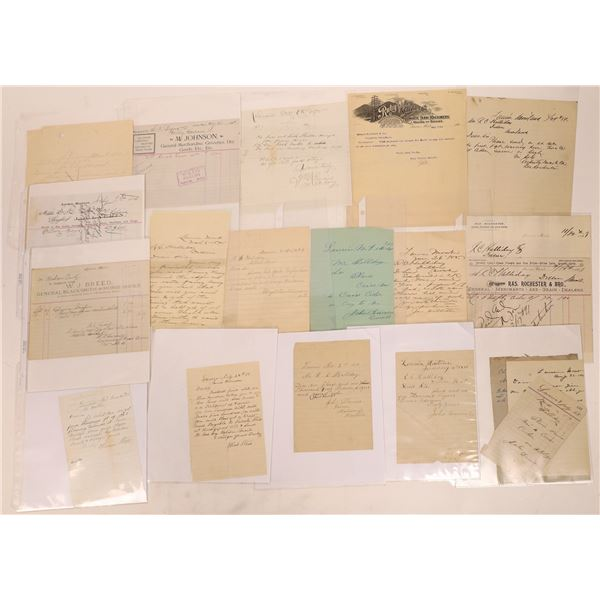 Laurin Letter Correspondence Collection   [140905]