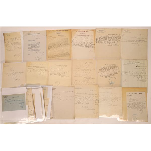 Lewistown Letter Correspondence Collection   [140922]