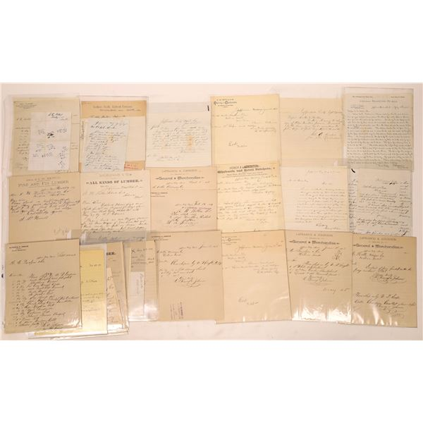 Lewistown Letter Correspondence Collection   [140923]