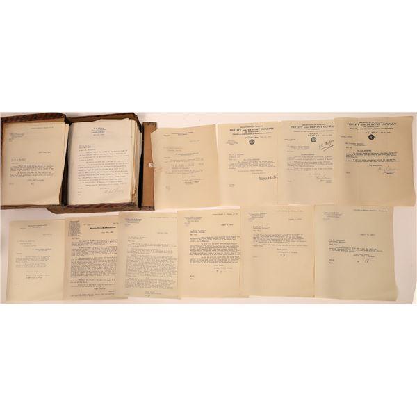 Blackford, Attorney's Original Legal Correspondence File  [140697]