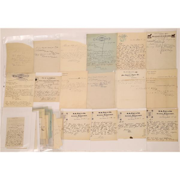 Lima Letter Correspondence Collection   [140906]