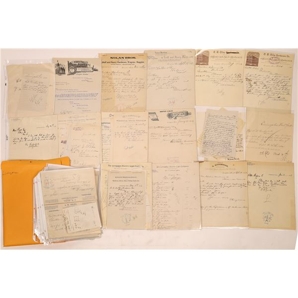 Livingston Letter Correspondence Collection   [140907]