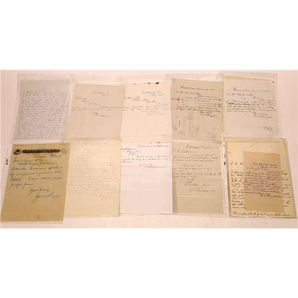 Martinsdale Letter Correspondence Collection   [140909]