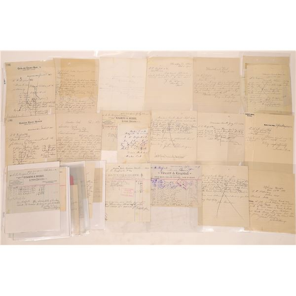 Meadow Creek Letter Correspondence Collection   [140910]