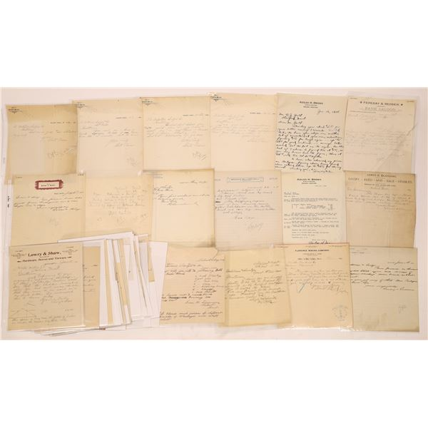Neihart Letter Correspondence Collection   [140912]