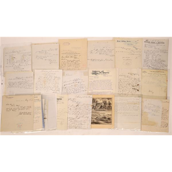 Radersburg Letter Correspondence Collection   [140917]