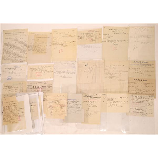 Red Bluff Letter Correspondence Collection   [140918]