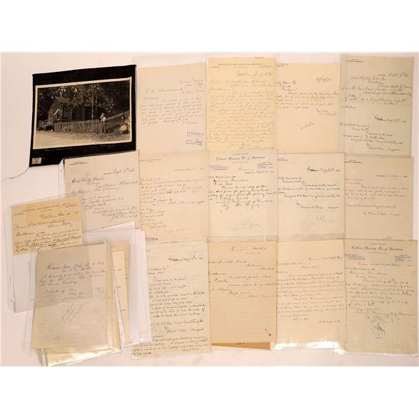Rimini Letter Correspondence Collection   [140921]