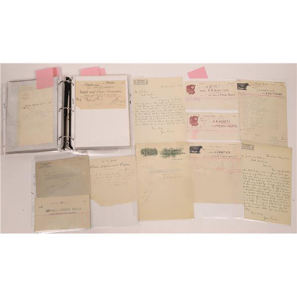 Correspondence from Sheridan, Montana, Group 1 ~ 70 pcs  [141035]