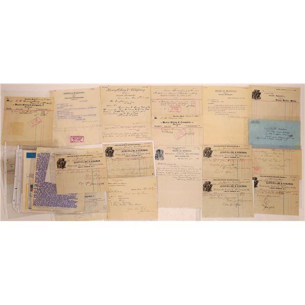 Correspondence from Sheridan, Montana, Group 2 ~ 30 pcs  [141039]
