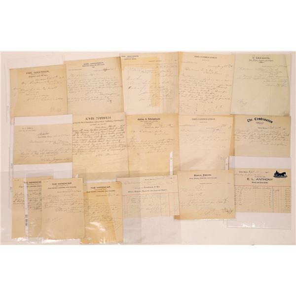 Correspondence from Stockett, Montana ~ 15 pcs  [141044]