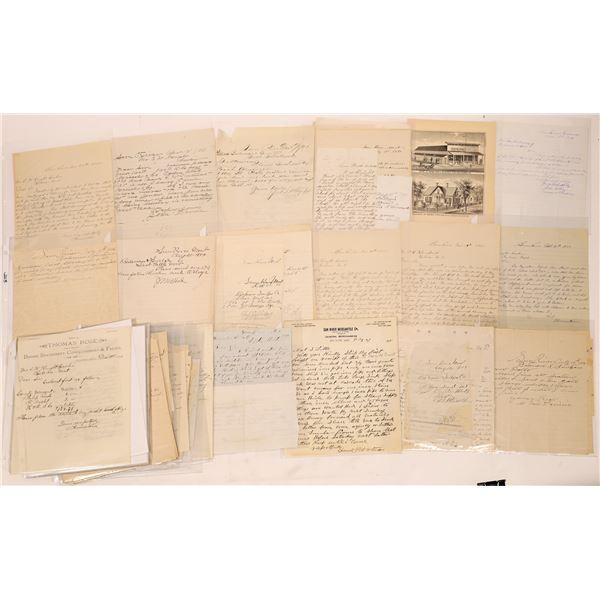 Correspondence from Sun River, Montana ~ 44 pcs  [141045]