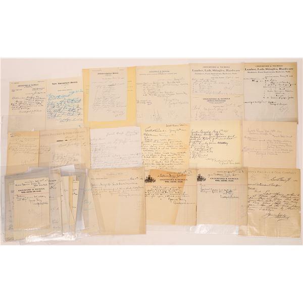 Correspondence from Sweet Grass, Montana ~ 37pcs  [141046]