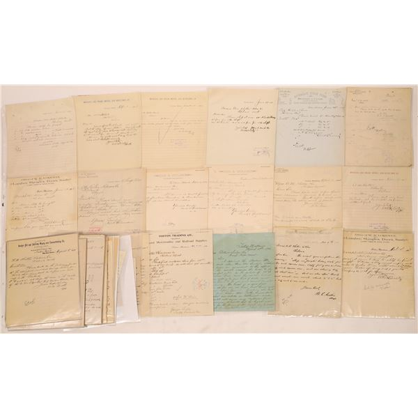 Correspondence from Toston, Montana ~ 40 pcs  [141049]