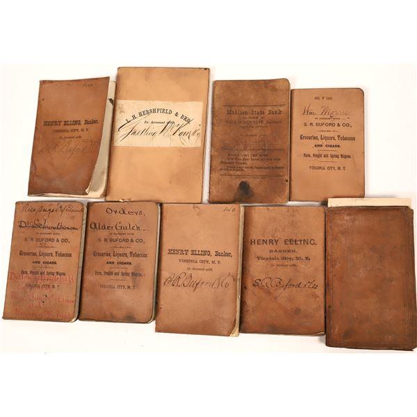 Virginia City Bank Book Collection  [139940]