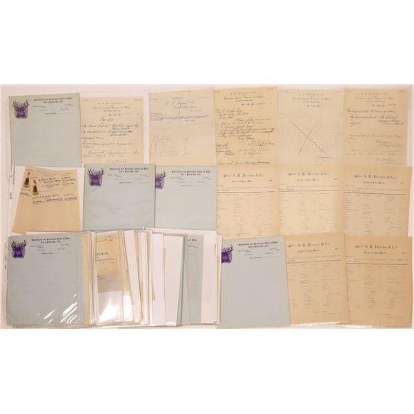 Virginia City Bill & Letterhead Collection (Approx.150)  [140445]