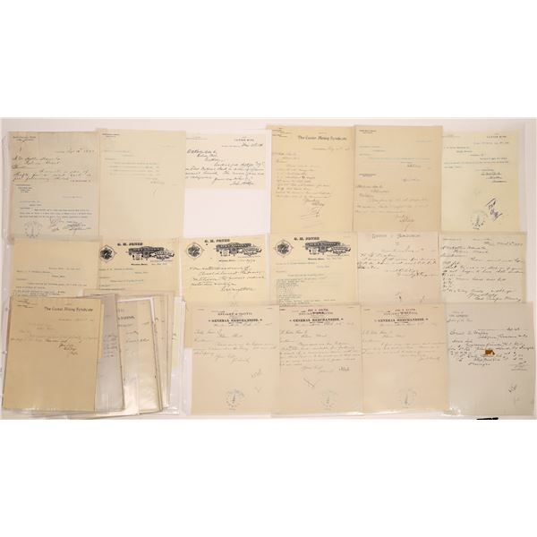 Winston Billheads, Letterheads, Etc (Approx. 25)  [140527]