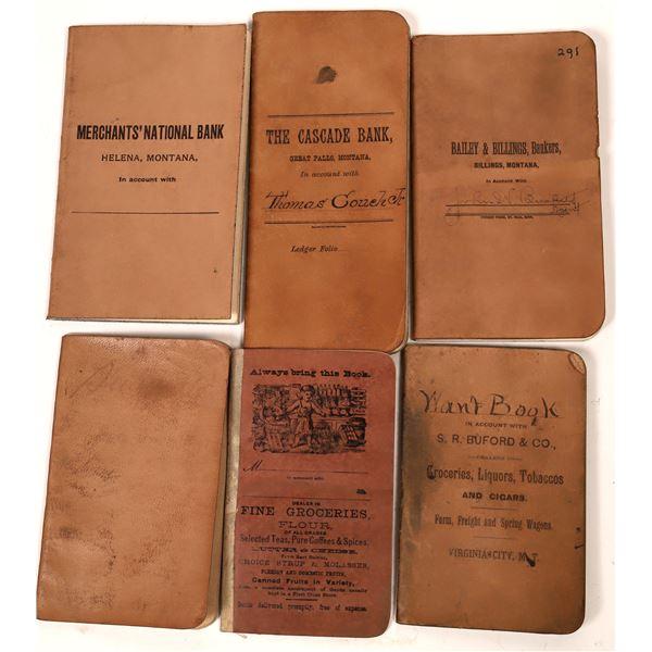 Montana Bank Book Collection  [139941]
