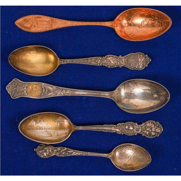 Montana Souvenir Spoon Collection  [138533]