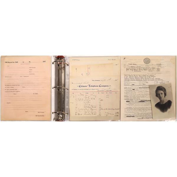 Montana Early 20th Century Correspondence Archive  [140167]