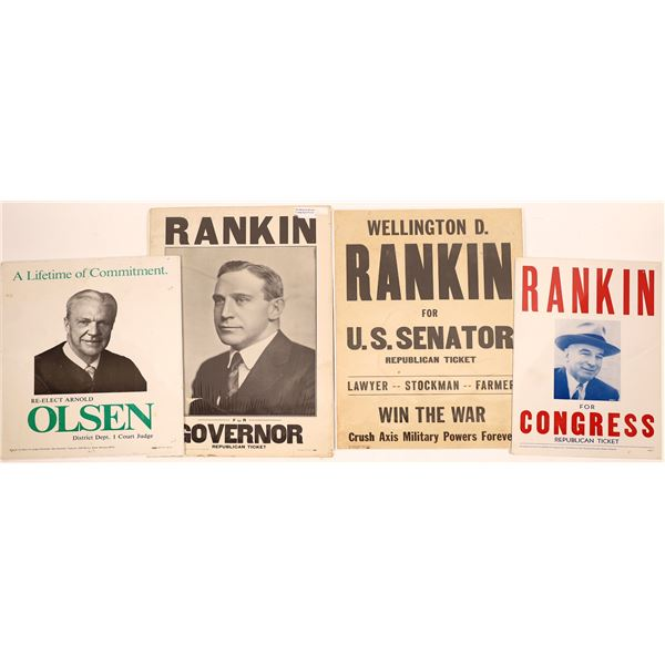 Political Posters from Montana  [139526]