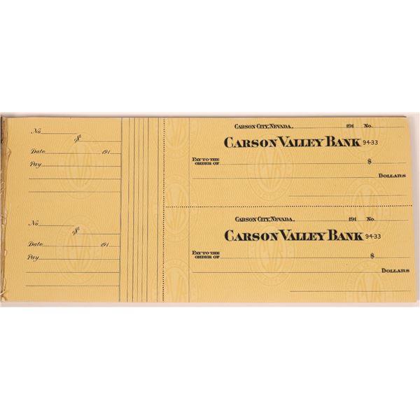 Carson City Check Lot, 100 pcs  [141132]