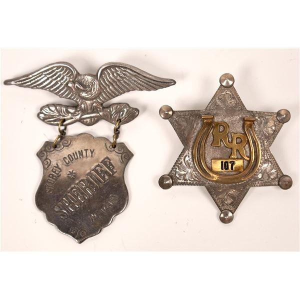 Sheriff's Badges  [138075]