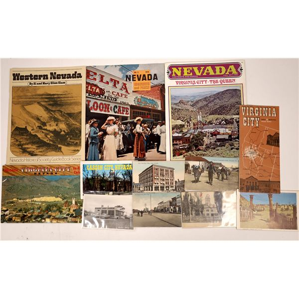 Nevada Pamphlet and Postcard Collection  [138450]