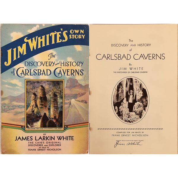 Carlsbad Cavern Discoverer Story  [140498]