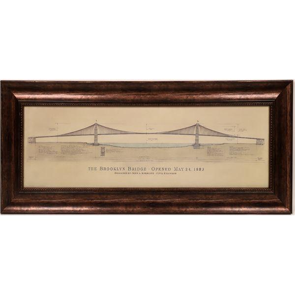 Brooklyn Bridge Engineering Artwork  [139417]
