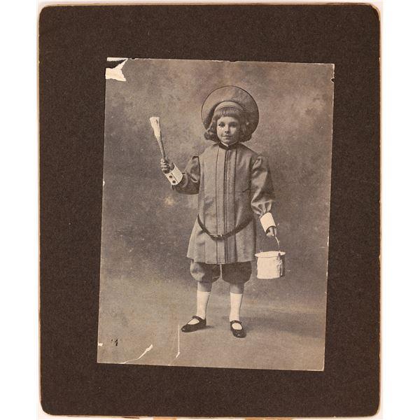 Original Buster Brown Photograph  [139320]