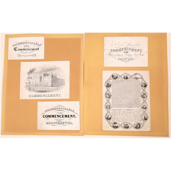 New York City College Commencement Cards (5)  [139165]