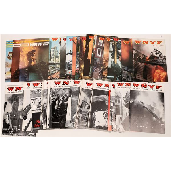 """WNYF: """"With New York Firefighters"""" Magazines  [138537]"""