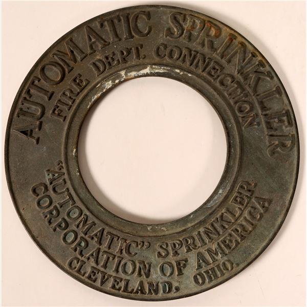 Automatic Sprinkler Corporation of America Cast Iron Fire Dept. Connection Part  [138155]