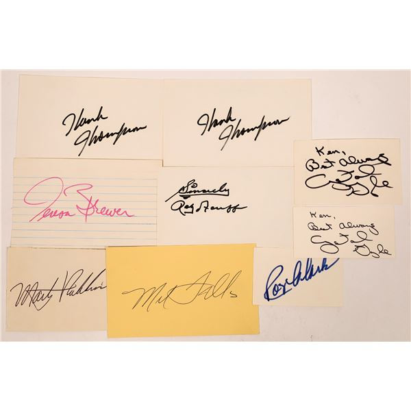 Country Singers Autograph Group (7)  [127660]