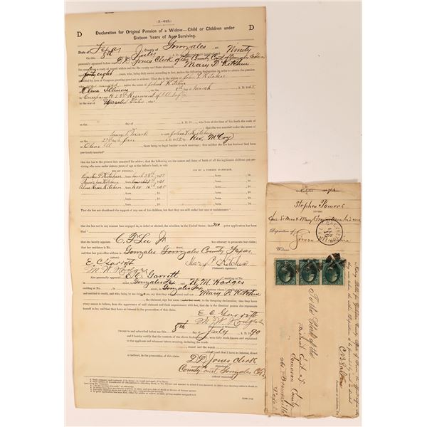 Texas Documents (2)  [139217]