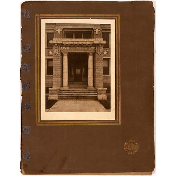 Gisholt Machine Company Vintage Catalog  [138552]
