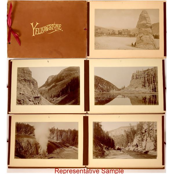 Yellowstone by Frank Jay Haynes; A Photographic Album  [138544]