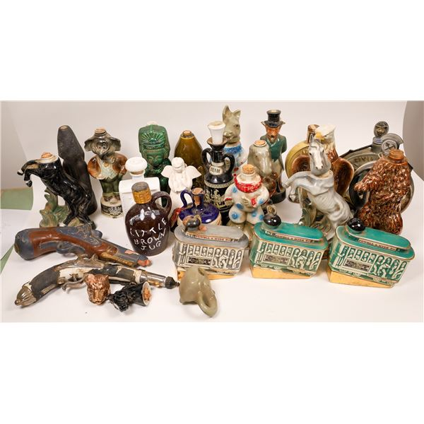 Ceramic Whiskey Decanter Collection  [138495]