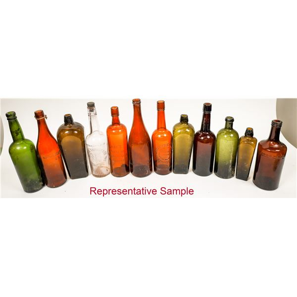 Collectible Western Bottle Group  [138492]