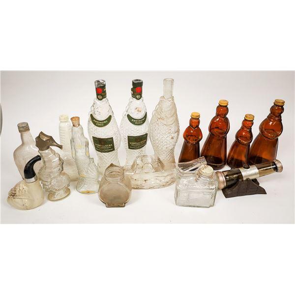 Figural (Modern) Bottle Group, c1910-1960  [138497]