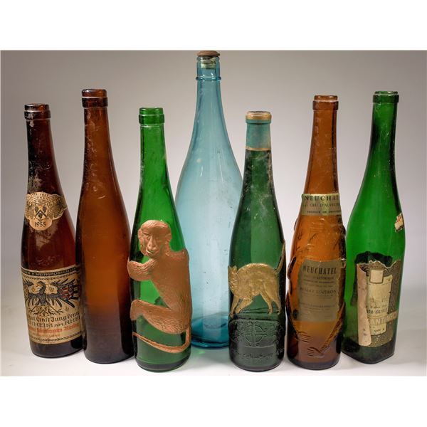 Figural and Riesling Bottle Collection  [138490]