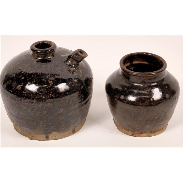 Dug Up Chinese Jars  [138414]