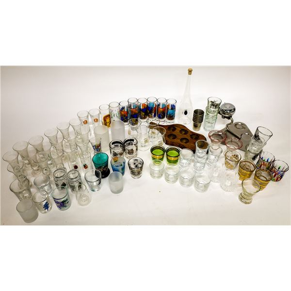 Schnapps Glass and Shot-glass Collection  [138431]