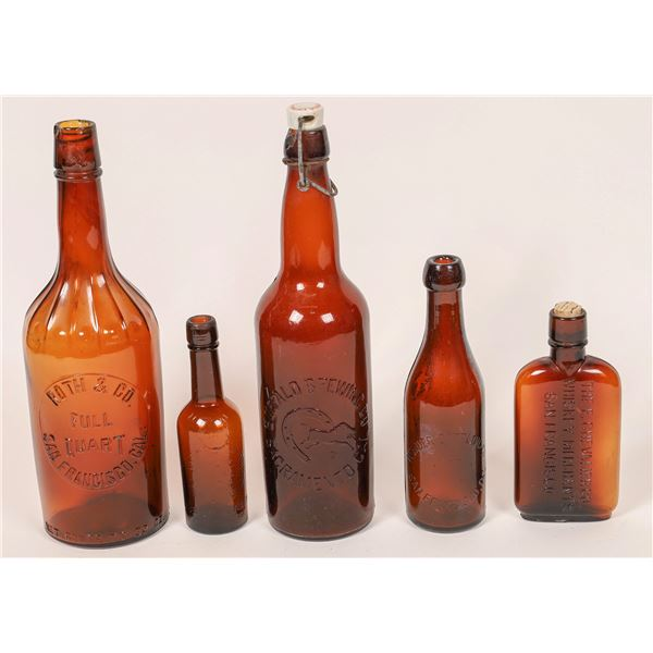 Western Whiskey and Beer Collectibles Group  [139876]