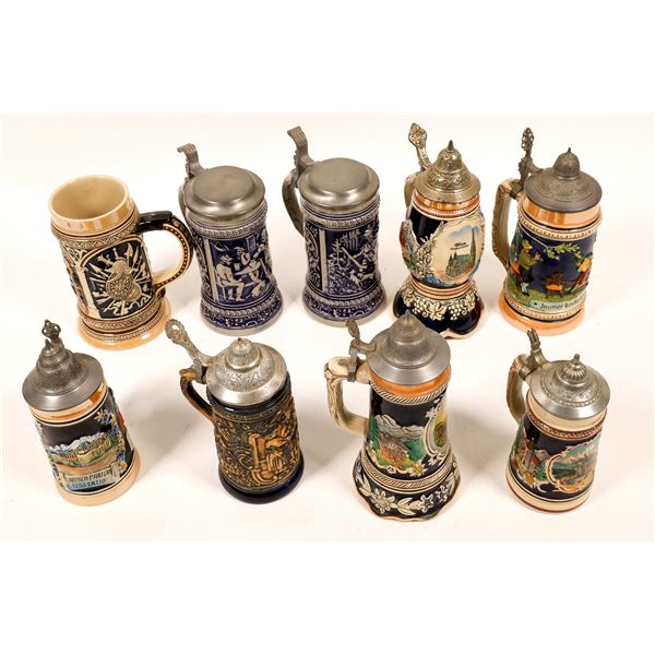 Beer Stein Collection (9)  [139363]