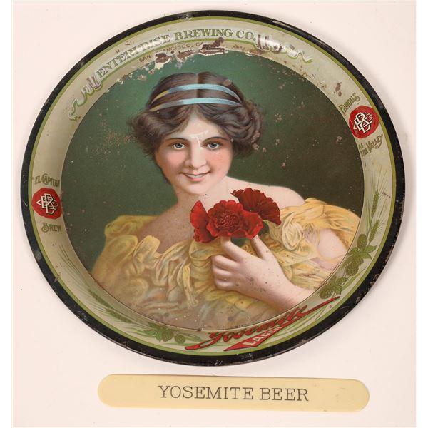 Enterprise Company Yosemite Lager Beer Company Tray  [139873]