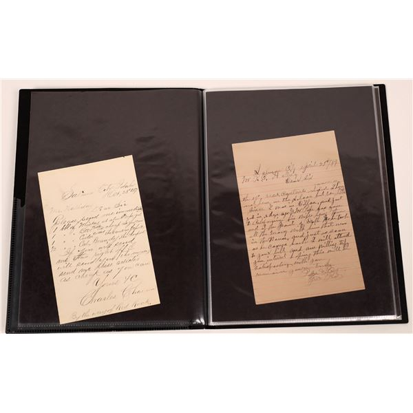 Idaho Letters from Mining Camp Saloons 1880s- 1890s  [140042]