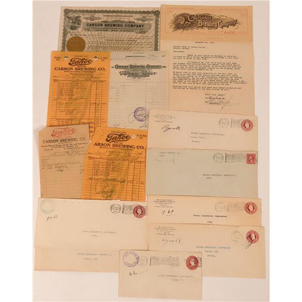 Carson Brewing Company Archive  [138154]
